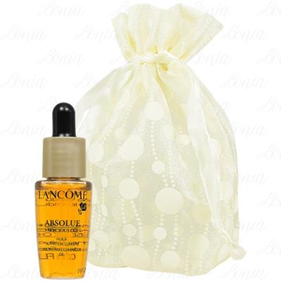 LANCOME 蘭蔻 絕對完美極緻活化玫瑰油精粹(7ml)旅行袋組
