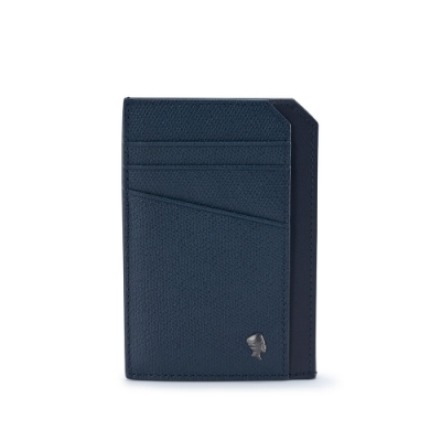 PORTER - 個性主宰LOGIC多功能卡片夾 - 深藍