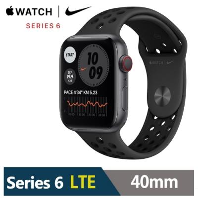 Apple Watch Nike+S6 40mm 鋁金屬錶殼配運動錶帶(GPS+Cellular版)