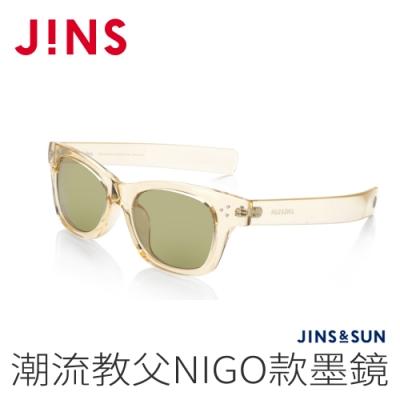 JINS&SUN 潮流教父NIGO款墨鏡(AMRF20A053)透明淺黃