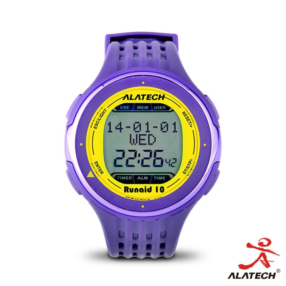 ALATECH Runaid10 藍牙跑步運動錶 (紫色)