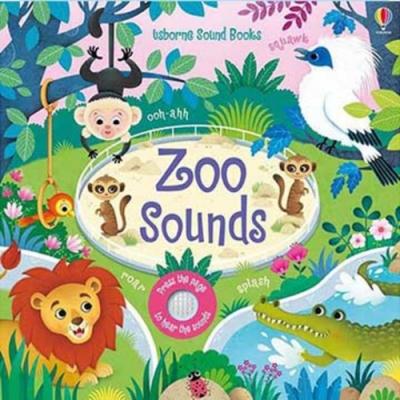 Touchy-Feely Sound Books:Zoo Sounds 動物園聲音觸摸音效書
