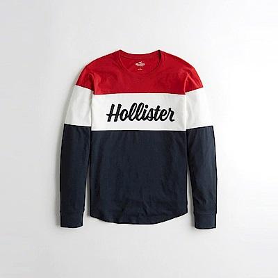 Hollister HCO  長袖 T恤 藍1082