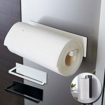 磁吸式廚房紙巾毛巾架