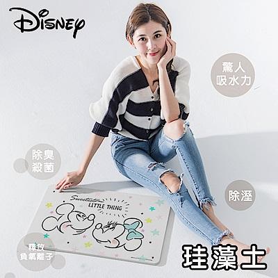 【迪士尼Disney】授權珪藻土地墊(5款-米奇/米妮/維尼/瑪麗貓)
