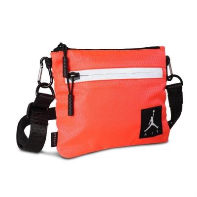 Nike 斜背包 AJ Shoulder Bag 男女款 喬丹 飛人 外出 輕便 小包 橘 黑 JD2123011GS002