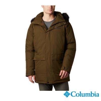 Columbia 哥倫比亞 男款- Omni TECH防水鋁點保暖羽絨外套-綠色