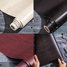 2捲 DIY防水木紋自黏壁紙 壁貼 牆紙 小面積裝修