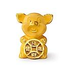 MANSTYLE 超迷你招財豬 黃金擺件 (約0.60錢)