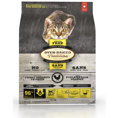 加拿大OVEN-BAKED烘焙客-全齡貓無穀-野放雞 2.27kg(5lb)
