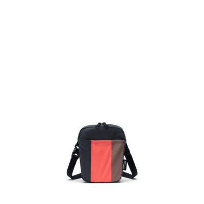 Cruz斜背包-反光珊瑚橘