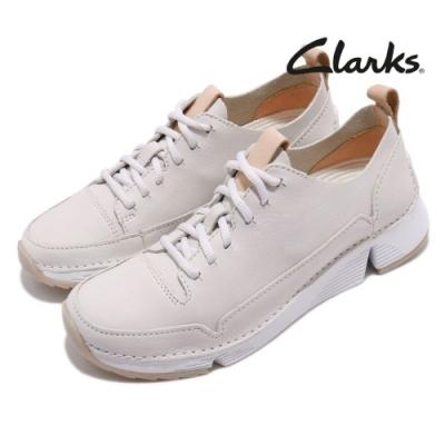 Clarks 休閒鞋 Tri Spark 三瓣底 真皮 女鞋