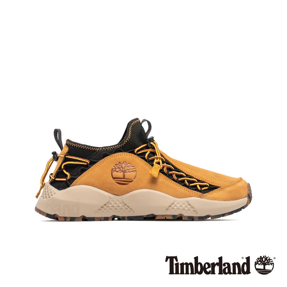 Timberland 男款NNH小麥黃正絨面皮革運動鞋|A1UYA