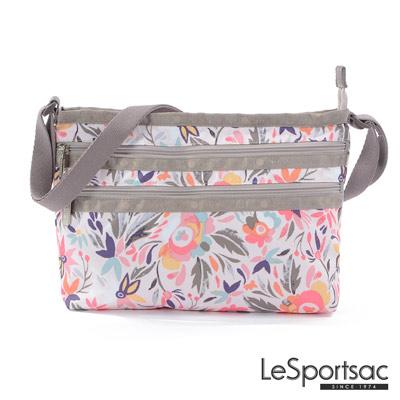 LeSportsac - Standard橫式三層拉鍊斜背包 (南島風情)