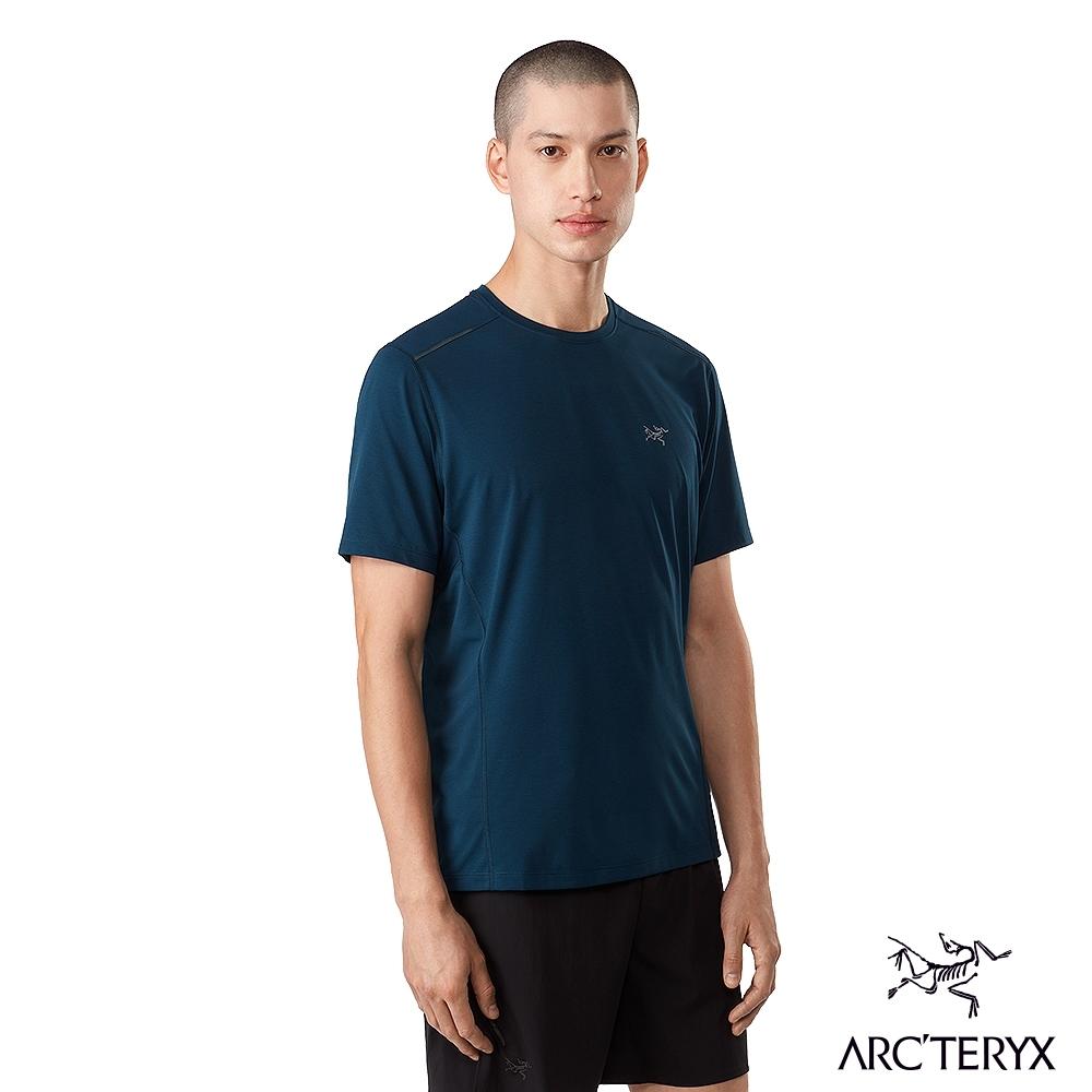 Arcteryx 始祖鳥 男 Motus SL 快乾 短袖 圓領衫 無限藍