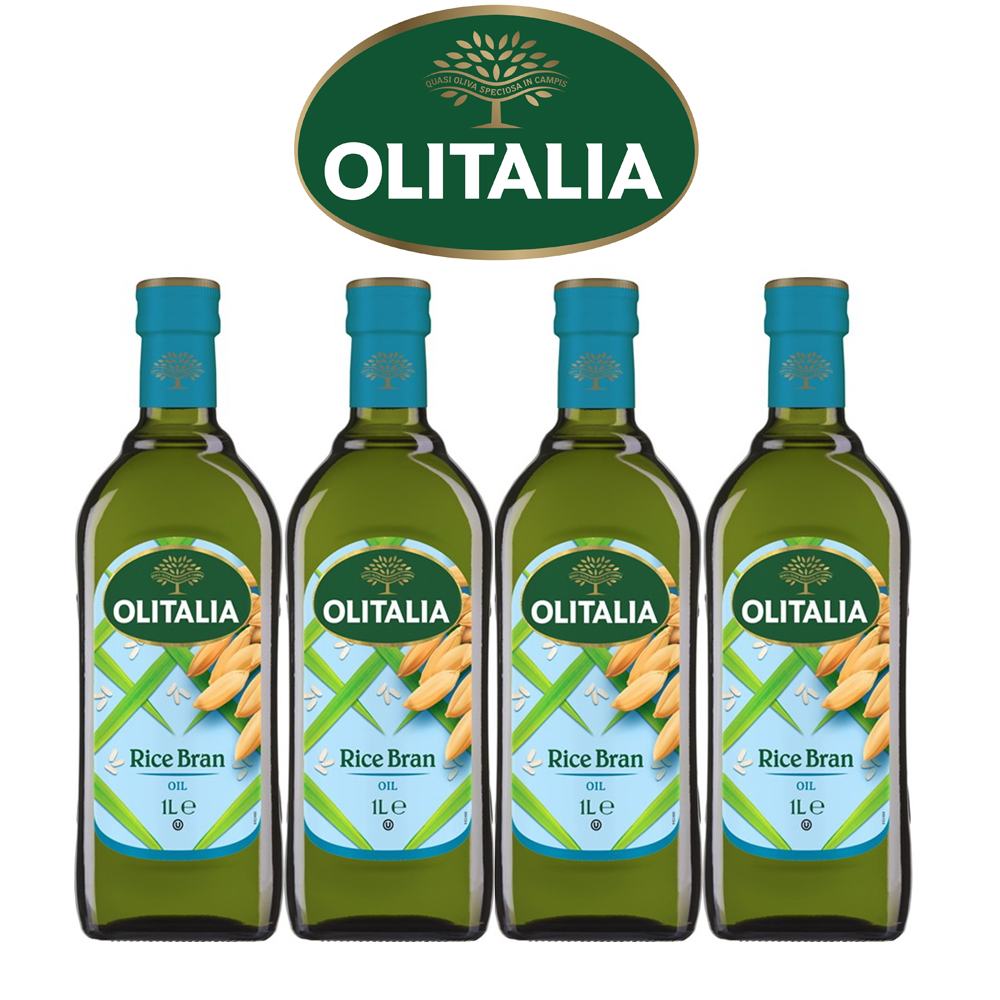 Olitalia 奧利塔玄米油促銷禮盒組(1000mlx4瓶)