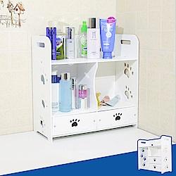 【Incare】輕巧好組裝-可愛DIY防水收納盒(2款可選)