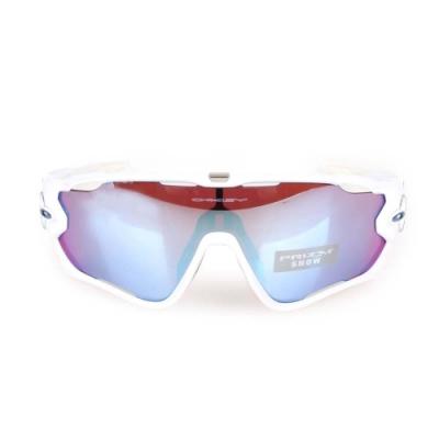 OAKLEY JAW BREAKER 一般太陽眼鏡附硬盒鼻墊 白