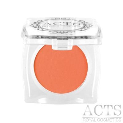 *ACTS維詩彩妝 霧面純色眼影 暖紅橘2301