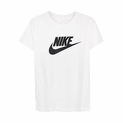 Nike 女 ESSNTL ICON FUTUR 圓領T(短)