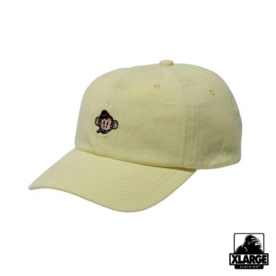 XLARGE KEITH 6PANEL CAP六分割帽-黃