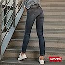牛仔褲 修身 711 中腰緊身窄管 義大利彈性布料 刷白  - Levis