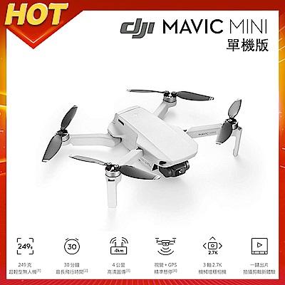 DJI Mavic MINI 摺疊航拍機 單機版 (聯強公司貨)