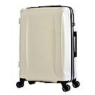 日本 LEGEND WALKER 5201-58-24吋 超輕量行李箱 雪貂白