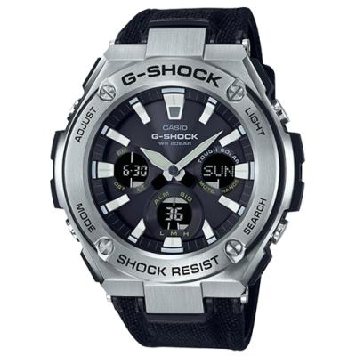 CASIO 卡西歐G-SHOCK 分層防護構造G-STEEL太陽能電力錶(GST-S130C-1A)