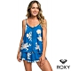 【ROXY】FLORAL SLOW 上衣 藍 product thumbnail 1
