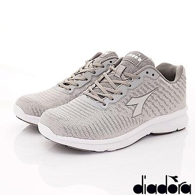 DIADORA-動能乳膠反光跑鞋款 FI998灰(女段)
