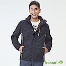 bossini男裝-多功能百搭外套02黑