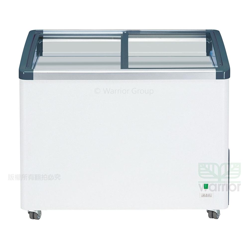 德國利勃LIEBHERR 3尺4 弧型玻璃推拉冷凍櫃270L(EFI-2703)