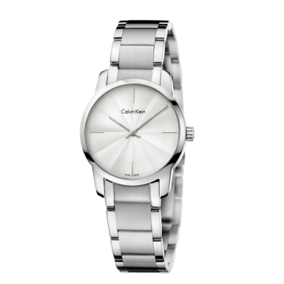Calvin Klein CK極簡質感三針腕錶(K2G23146)31mm