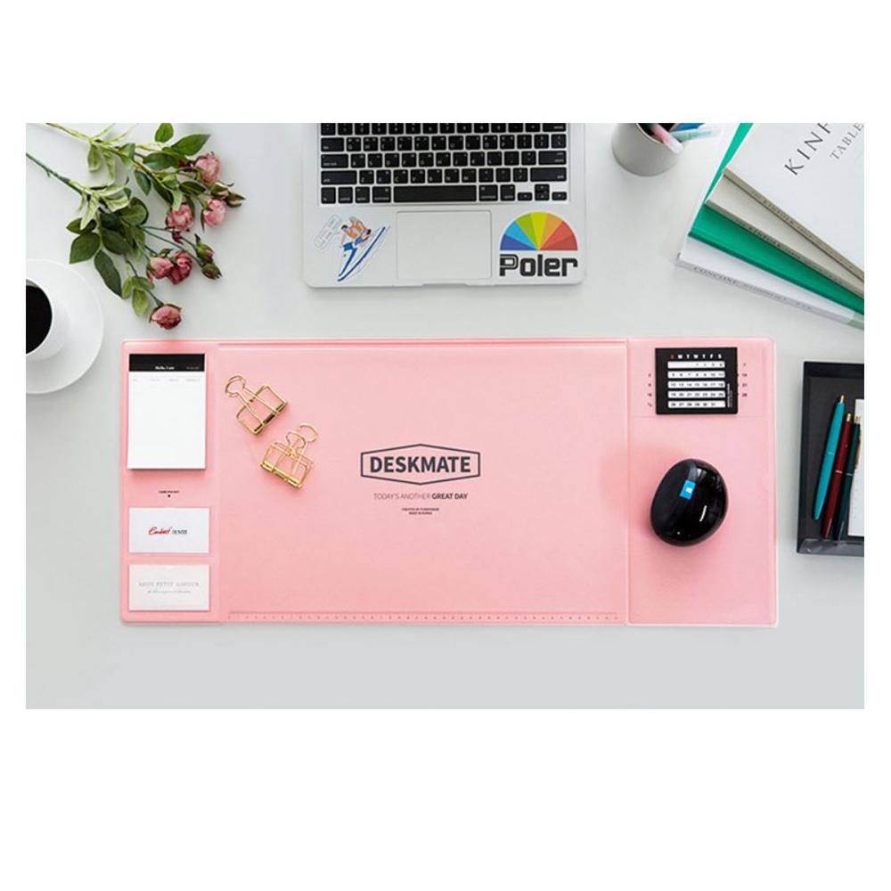 COMET 甜美多功能電腦桌墊(滑鼠墊)-粉(EB-E18P)