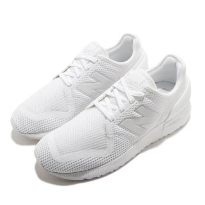 New Balance 休閒鞋 247 運動 男女鞋 紐巴倫 基本款 情侶穿搭 全白 MS247MC3D
