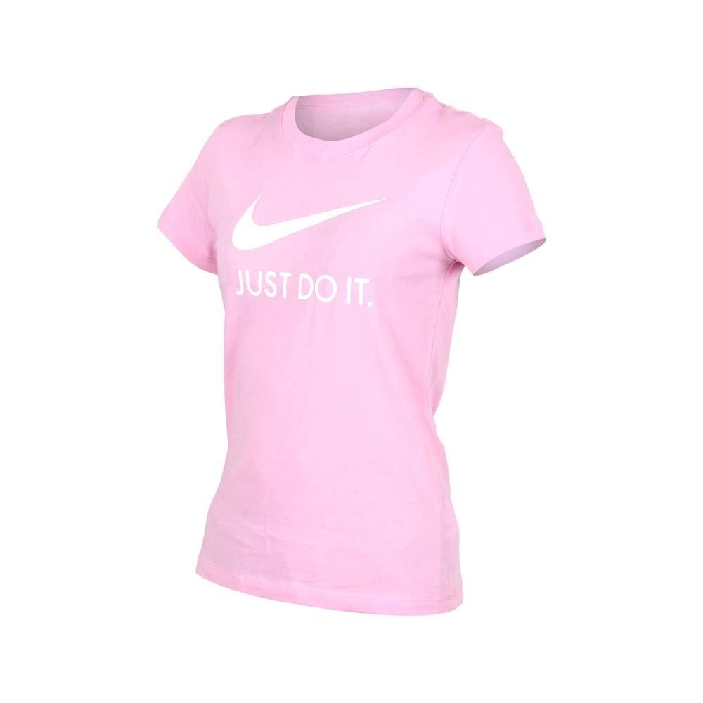 NIKE 女 短袖T恤 粉紅白