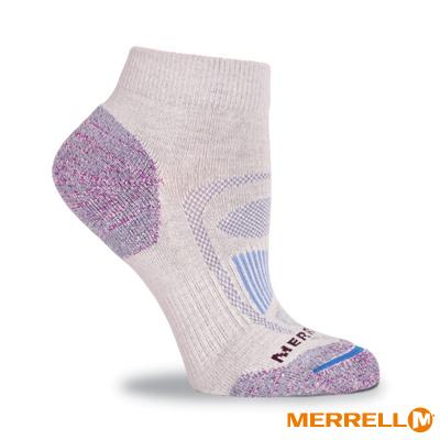 MERRELL 郊山健行襪-淺灰(WF0317F00601)