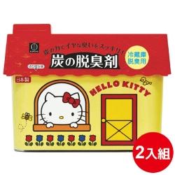 日本品牌 小久保 HelloKitty冷藏庫消臭劑 2入優惠組