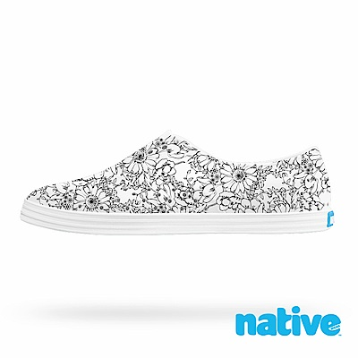 native JERICHO 女鞋-波斯菊白