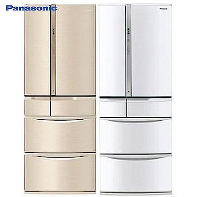Panasonic國際牌501L1級變頻6門電冰箱NR-F504VT