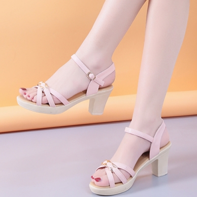 KEITH-WILL時尚鞋館時尚穿搭俐落度假涼跟鞋