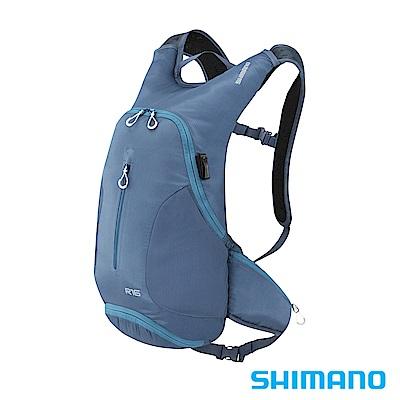 SHIMANO ROKKO 全功能背包-無水袋16L 深單寧藍