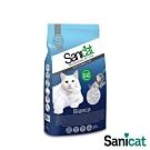 SaniCat Bianca 高效抗菌凝結白砂 20L 凝結力佳 低粉塵 除臭 抗菌 吸水力佳