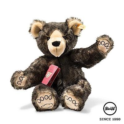 STEIFF德國金耳釦 環遊世界 旅遊熊 Tom(經典玩伴)