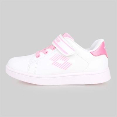 LOTTO 男女兒童1973經典網球鞋-慢跑 童鞋 白粉紅