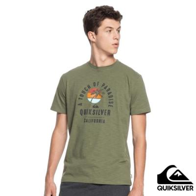 【QUIKSILVER】QUIET HOUR SS T恤 軍綠
