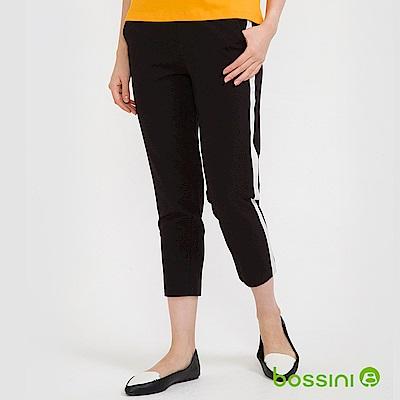 bossini女裝-彈性修身褲03黑