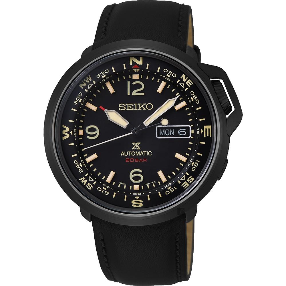 (無卡分期6期)SEIKO 精工 PROSPEX 陸 系列200米機械錶(SRPD35J1)