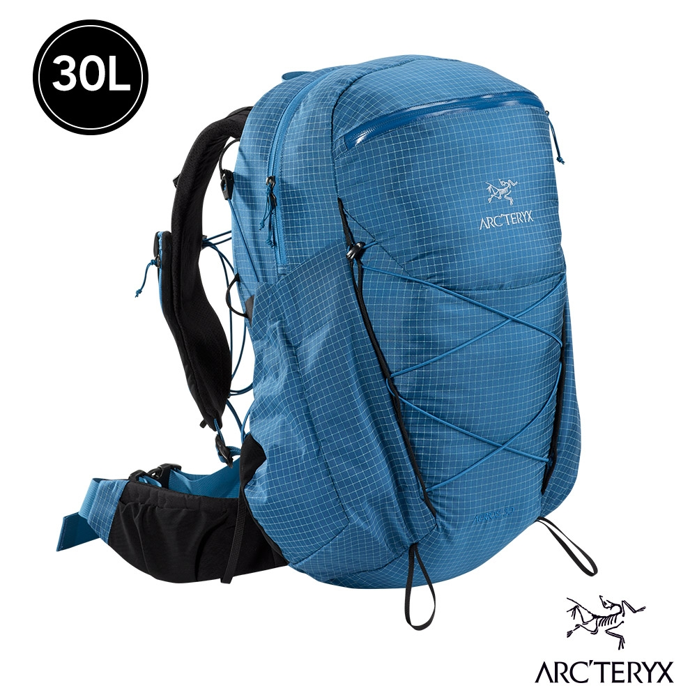 Arcteryx 始祖鳥 女 Aerios 30L 輕量 登山 後背包 探索者藍